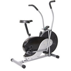 直立固定运动自行车,用于健身房