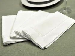 White VIRGIN Dining Napkin, Size: 30*30