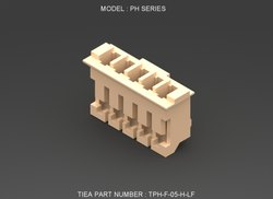 PH Series 5 Pin Female Connector