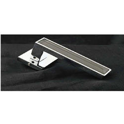 Stylish Grey Mortise Handle