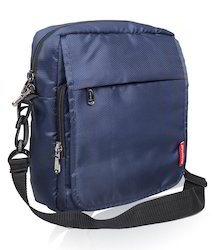 Navy Blue Travel Sling Bag for Men