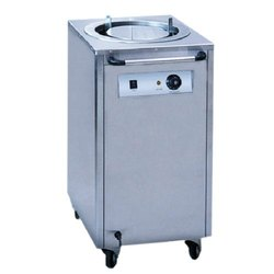 220v Stainless Steel Ecoline Plate Warmer, Size/Dimension: 450X485X770mm