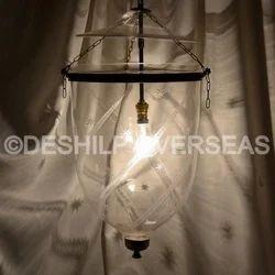 Plain Glass Hanging Lights