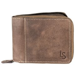 Premium Natural Leather Branded Wallet