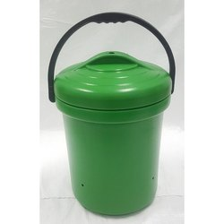 Green Plastic Dust Bin