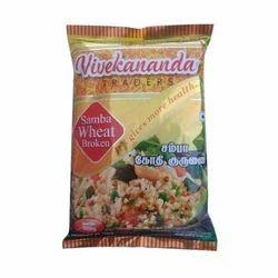 Vivekananda Samba Broken Wheat, Pack Type: Packet