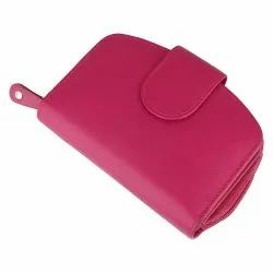 Ladies Leather Wallet Clutches