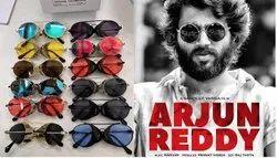 Casual Wear Arjun Reddy Style Round Sun Glasses