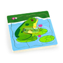 Grow- Up Puzzle - Frog