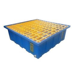 Ercon Four Drum Spill Containment Tray  Pallets