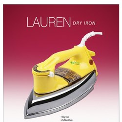 Electric Iron, Pack Type: Box