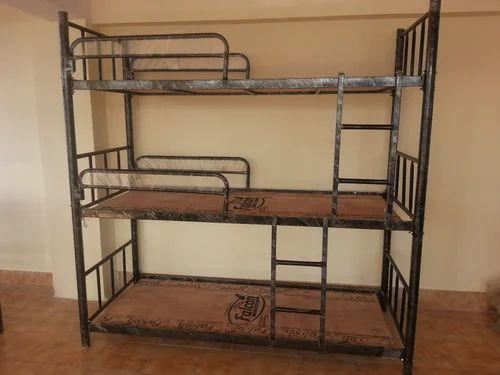 3 Tier Bunker Bed Bunk Beds Online ब क ब ड A M Steel