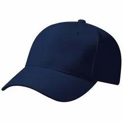 Plain Blue Men Cap