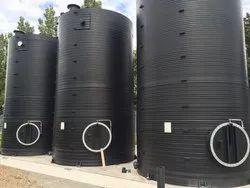 Spiral HDPE Acid Storage Tank