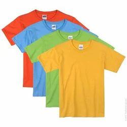 Cotton Kids Plain T Shirt