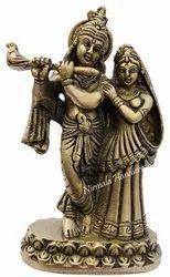 Brass Radha Kishan Plain Work Item