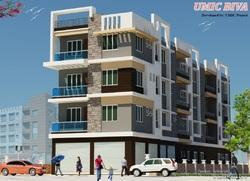 1/2/ Bhk Flats In Belgharia Near Bt Road Umic Biva