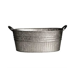 Metal Galvanized Steel Bucket, Capacity: Little To Large Capacities