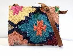 M B Exports Mini Leather Sling Bag