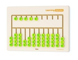Wall Toy Learning Alphabet