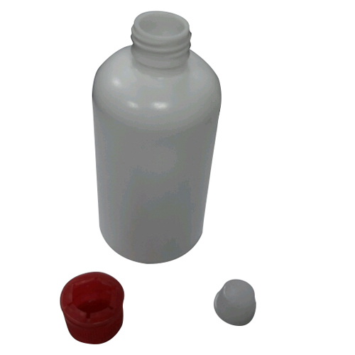 White, Red Stainer Bottle