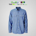 Chetna Organic Cotton Mens Chambray Shirts