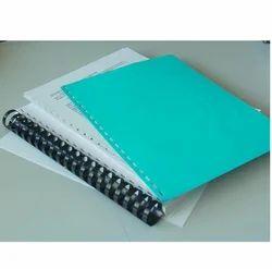 Classik Spiral Binding Polypropylene Sheets