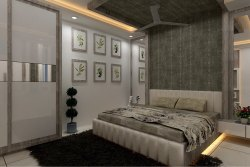 Bed Room Furniture With Material And Design, For Residential, Size: 12' X12'