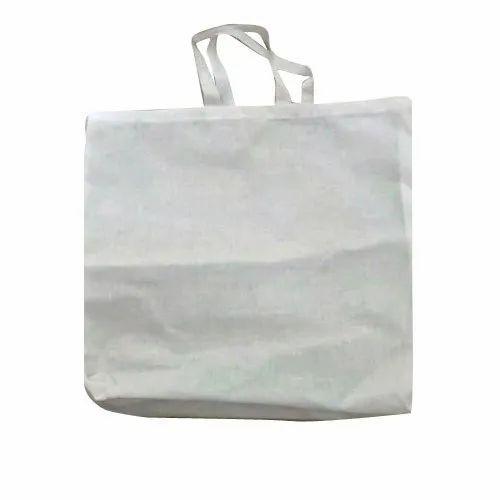 White Cotton Carry Bag
