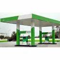 Green Bio Diesel Pump Canopy Work