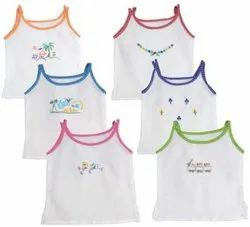 Printed Innerwear Baby Girl Cami, Size: 0-3 Years