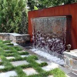 Multicolor S.S Garden Wall Fountain, For Outdoor Waterfall