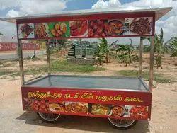 Stainless Steel Available Thallu vandi - Food cart, Capacity: Custamised