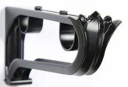 19-25 mm Black Matt Classical Double Bracket