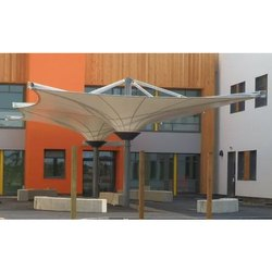 Inverted Cone Entrance Canopy