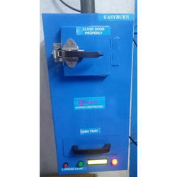 Front Loading Electric Sanitary Napkin Incinerator Machine