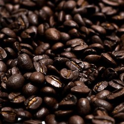 Dark Brown Coffee Bean