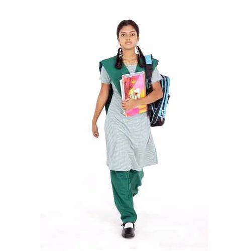 Cotton School Girls Salwar Suit Set, Rs 450 Set, Pal -9439