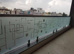 Spigot Glass Handrails