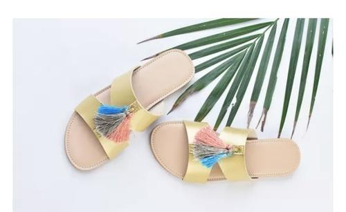 5a0102136 Formal Female Ladies Flat Sandals, Rs 350 /pair, Dimple Tippy Toes ...
