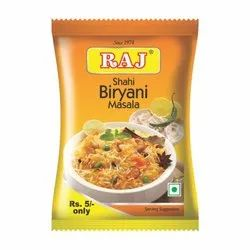 Raj Shahi Biryani Masala, Packaging Type: Box, Packaging Size: 100 g