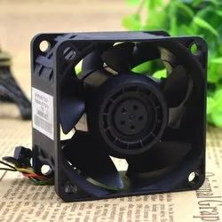 Delta Cooling Fan FFR0612DHE, -8B16, DC 12V 3.30A, 60x60x38Mm 40Mm 4-Wire 6-Pin Connector Server Fan