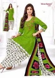 Shree Ganesh Hansika Vol 4 Cotton Regular Wear Readymade Patiyala Suit