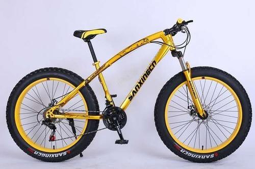 Gapuchee Golden Mountain Bike Fat Tyre Cycle Size 26