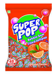 Super Pop Lollipop  16 Bag x 48pcs x 18 Gm