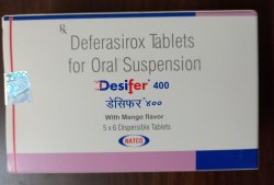 Deferasirox 400 mg & 100 mg
