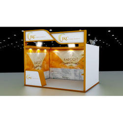 1 Side Open Exhibition Stall