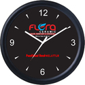 Plastic Promotional Round Black Wall Clock, Sc-631