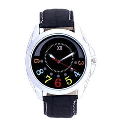 Casual Leather Strap Wrist Watch