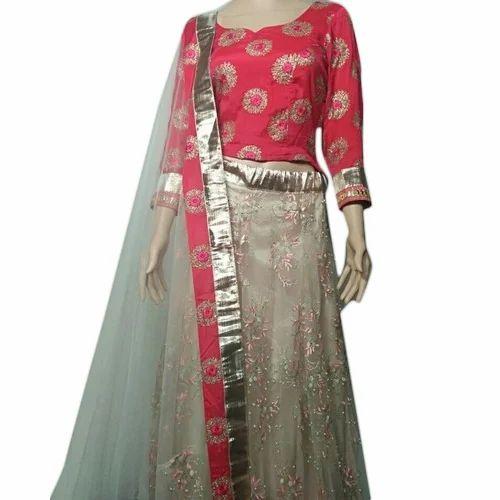 df3f9818e3 Ladies Georgette Semi-Stitched Designer Lehenga Choli, Rs 6500 ...
